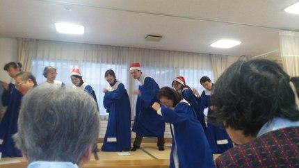 クリスマス会その2_b0159098_1659935.jpg