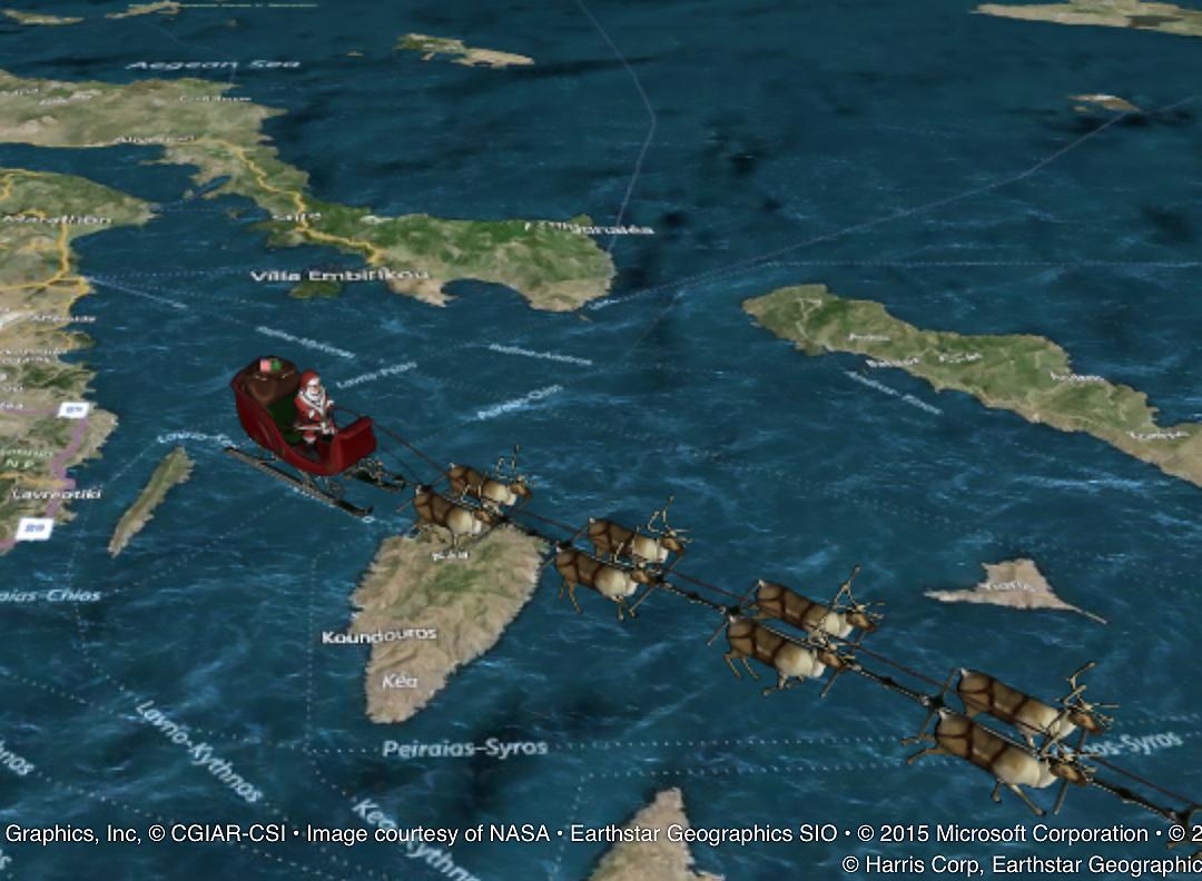 Congratulation! 60th NORAD Santa Tracker.   12月24日(木) 5404_b0069507_5155349.jpg