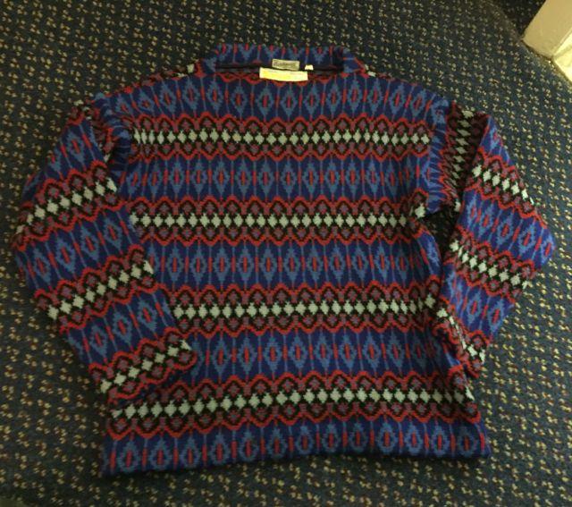12月26日(土)入荷! MADE IN SWEDEN  all wool ノルディック sweater!!_c0144020_14503312.jpg