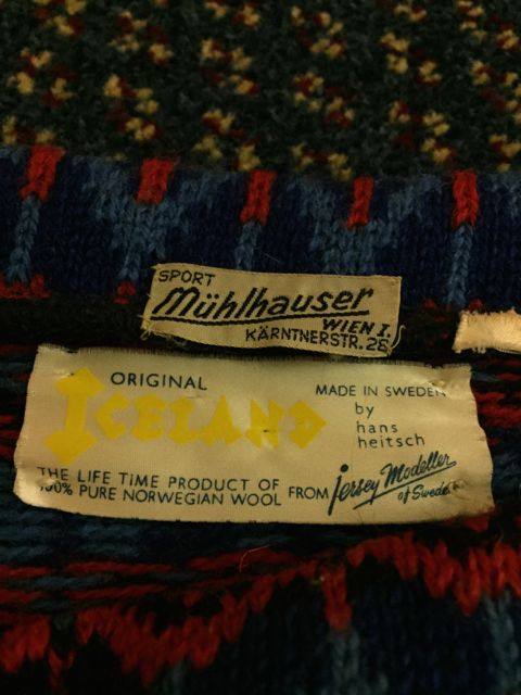 12月26日(土)入荷! MADE IN SWEDEN  all wool ノルディック sweater!!_c0144020_14504297.jpg