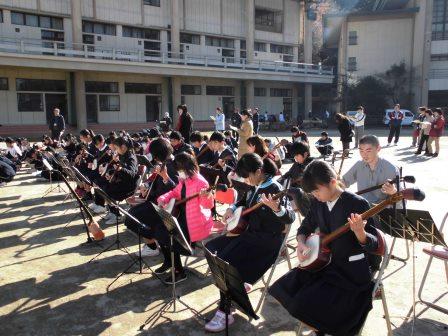 宮島学園 2015年度 餅つき・松明づくり_f0229523_15301142.jpg