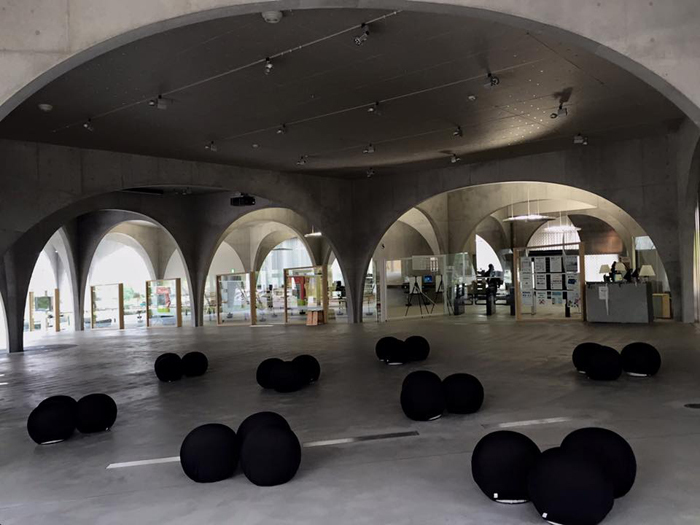 多摩美術大学 八王子図書館+スタジオ / iPhone 6_c0334533_18402826.jpg