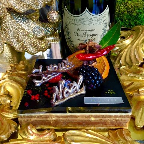 愛猫ディアモン君とエスキスの限定ケーキでXmasを祝う♪_a0138976_16164442.jpg
