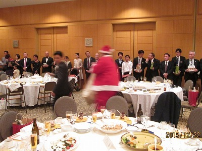 第17回 クリスマス親睦会_e0190287_20132944.jpg