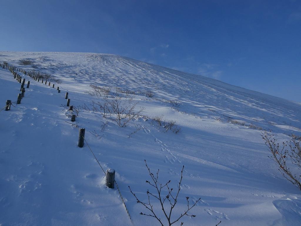 山納め(?)の樽前山、12月24日-その1-_f0138096_11331957.jpg