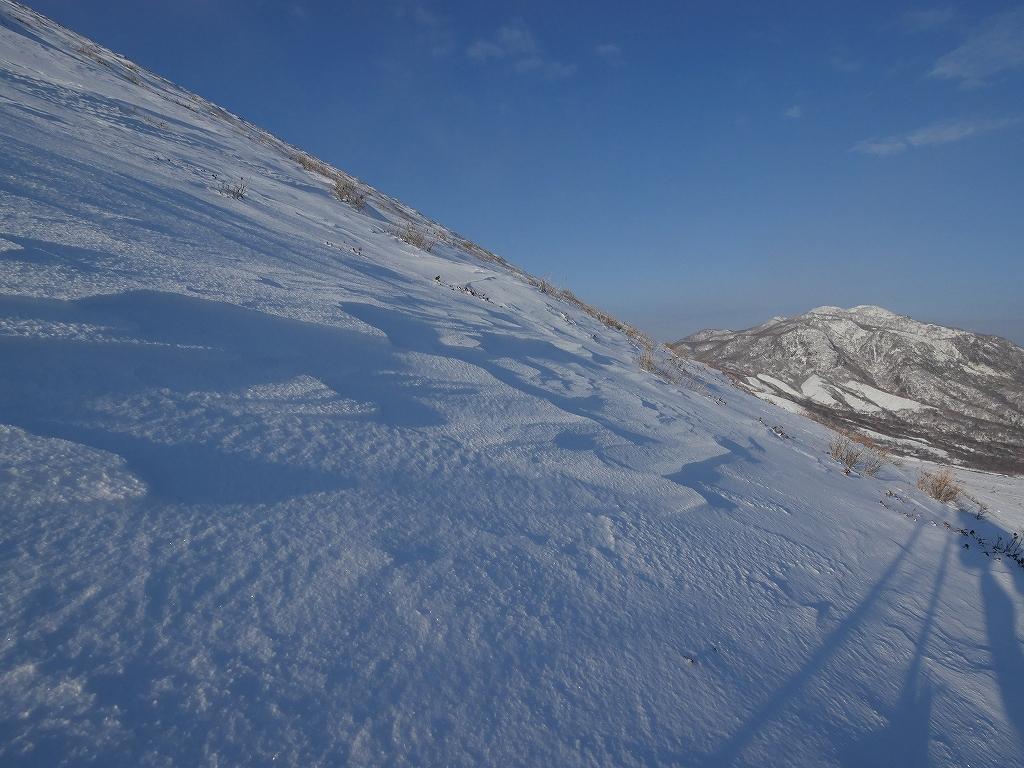 山納め(?)の樽前山、12月24日-その1-_f0138096_11334570.jpg