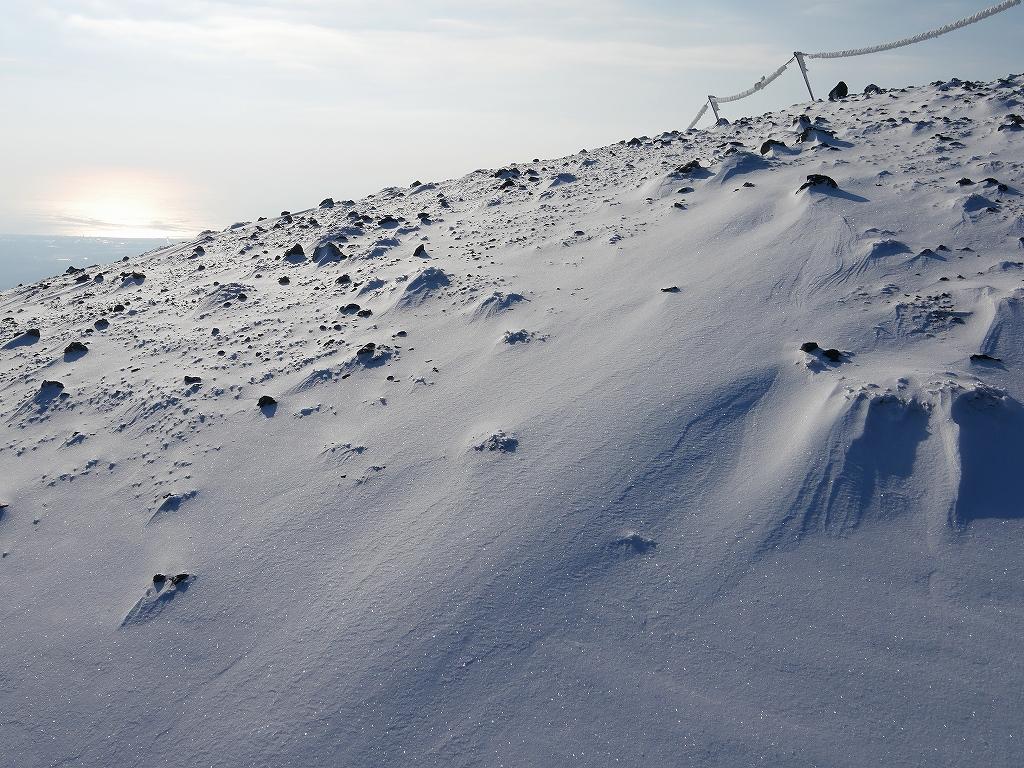 山納め(?)の樽前山、12月24日-その1-_f0138096_1134781.jpg