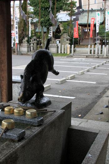 正月準備 護王神社_e0048413_1715294.jpg