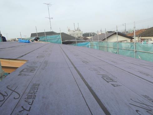 屋根防水<大きな吹き抜けのあるお住まい>_f0140817_11333961.jpg