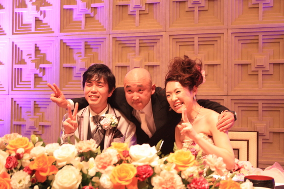 またまた結婚式~_f0229217_21144044.jpg