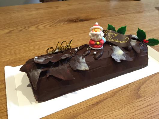 クリスマスケーキ。_b0135325_01443106.jpg