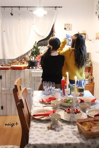 2015我が家のクリスマスは今年もホームパーティ♪_f0023333_21080543.jpg
