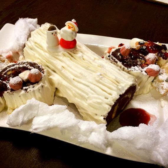 クリスマスケーキとカードとプレゼントと…☆_f0089355_19151857.jpg