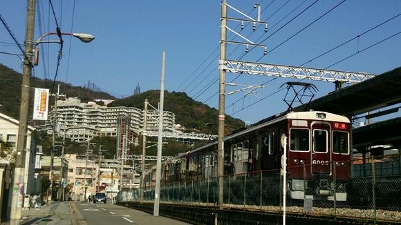 阪急C#6005×8R 箕面駅にて・・_d0202264_12403632.jpg