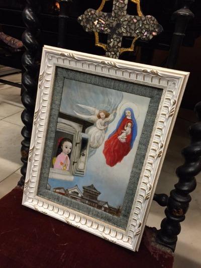 ~ 祈りの光 † Prière de Noël ~ 12/12~20 ☆ 展示風景_c0203401_19561244.jpg