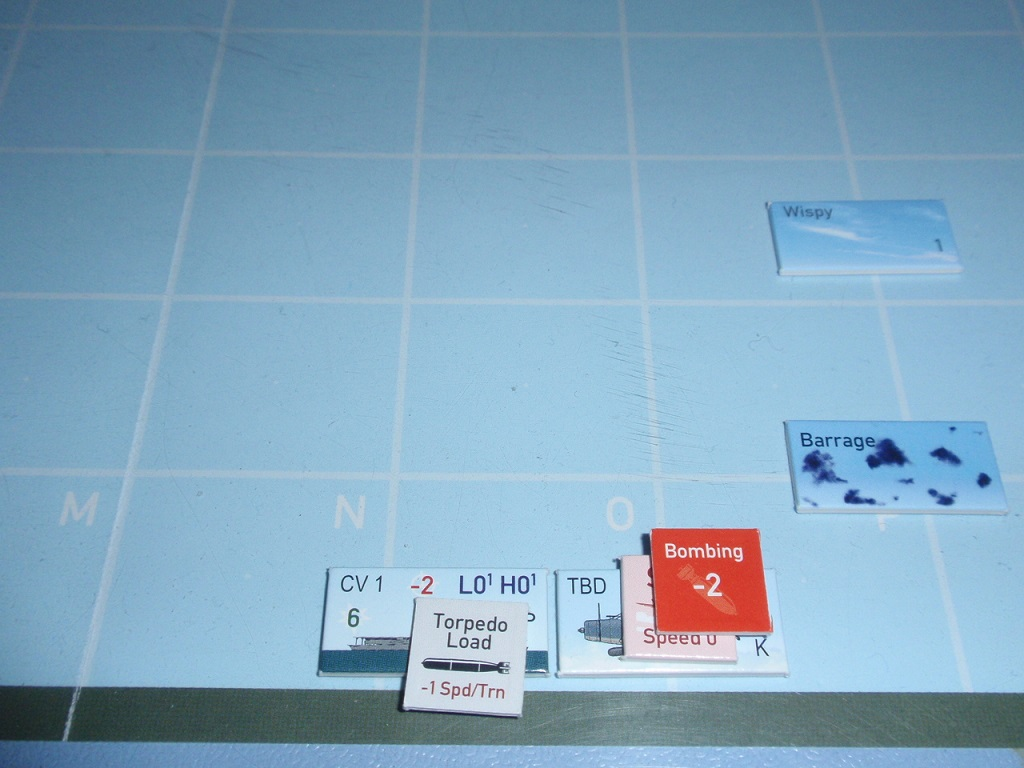 GMT「Wing Leader Victories 1940-1942」シナリオV23「Shimatta」をソロプレイ⑤_b0162202_22404695.jpg