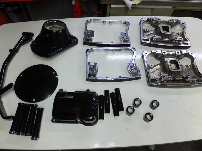 塗装完了!  EVOエンジン組み_c0226202_19311029.jpg