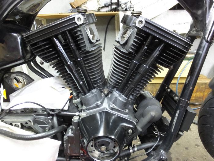 塗装完了!  EVOエンジン組み_c0226202_19493011.jpg