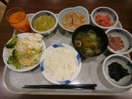 12/27  朝食バイキング二日目@ホテルフォルツァ長崎_b0042308_15115490.jpg