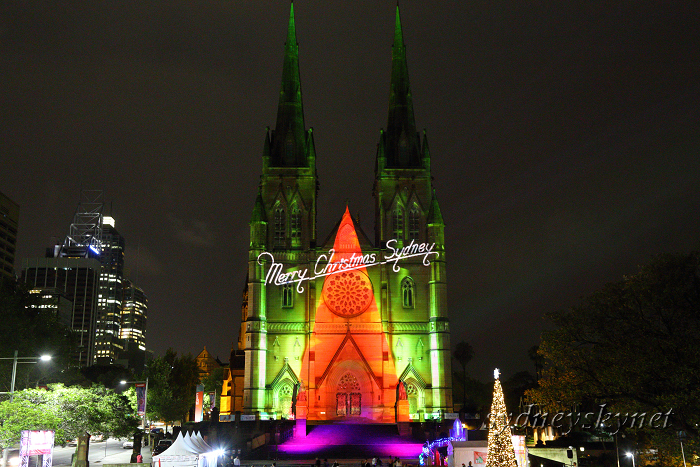 Christmas illumination ~4~ St. Mary\'s Cathedral_f0084337_20215942.jpg