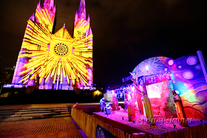 Christmas illumination ~4~ St. Mary\'s Cathedral_f0084337_20220081.jpg