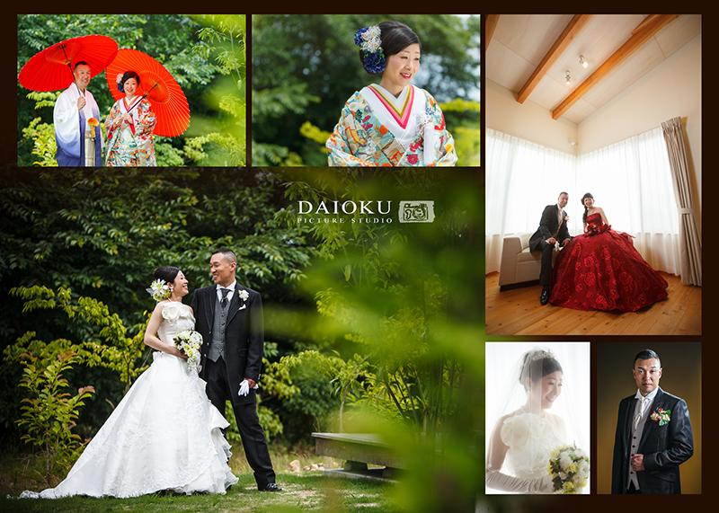 結婚式の前撮り 当店スタジオにて_c0224169_17111167.jpg