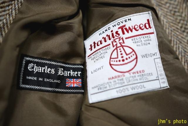 ヘリンボーンのHarris Tweedジャケットと女性_a0158797_22301487.jpg