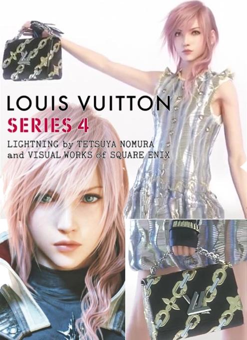 ファイナル・ファンタジーの人気女性キャラがルイ・ヴィトンとコラボ?! Lightning x Louis Vuitton_b0007805_7465127.jpg