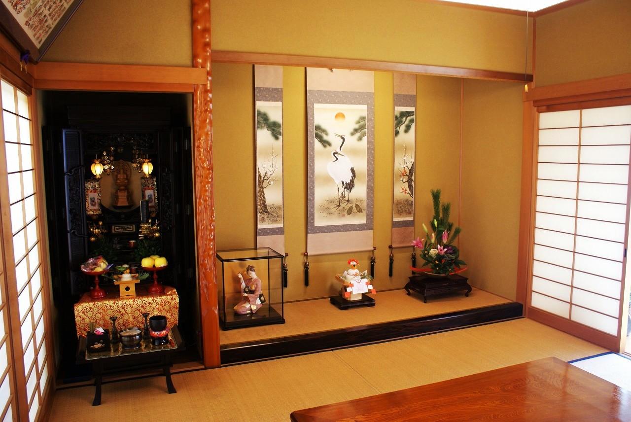 仏壇 正月 飾り