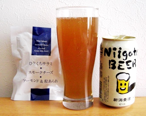 Niigata Beer(ニイガタビール)~麦酒酔噺その474~っぽい?_b0081121_655301.jpg