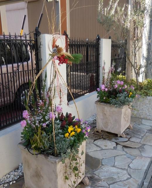 よき新年を願って「小粋なお正月飾り」が出来あがりました!_f0139333_22201123.jpg
