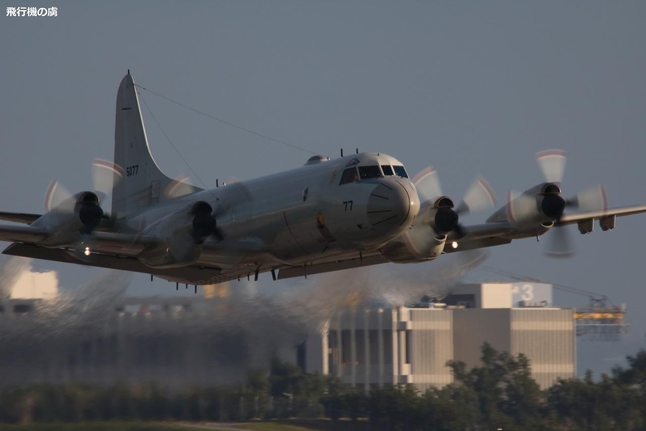 水平飛行風  P-3C  海上自衛隊_b0313338_00203939.jpg
