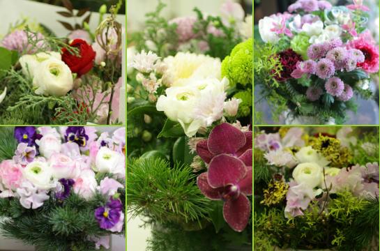 ノエル~お正月の花贈りより_d0203649_21294034.jpg