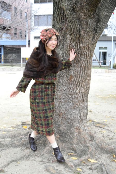 ⌘ 50\'s style and winter ⌘_e0148852_17563710.jpg