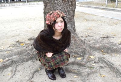 ⌘ 50\'s style and winter ⌘_e0148852_17574798.jpg