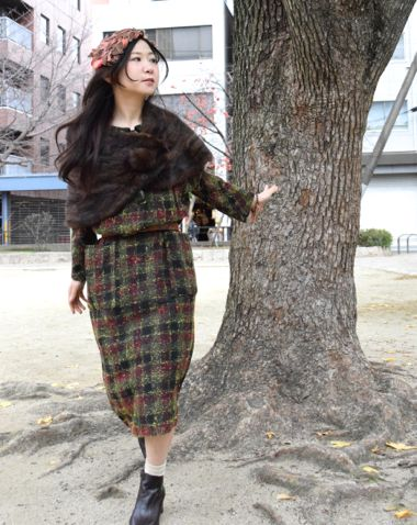 ⌘ 50\'s style and winter ⌘_e0148852_20155084.jpg