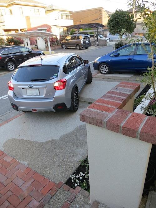実家の駐車場完成!!_f0324766_16284243.jpg