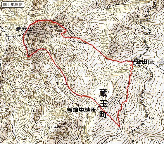 青麻山(31回目) ~ 2015年12月27日_f0170180_20521460.jpg