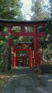上山市・栗川稲荷神社へ1年のお礼参り_f0168392_10215675.jpg
