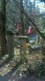 上山市・栗川稲荷神社へ1年のお礼参り_f0168392_10504092.jpg