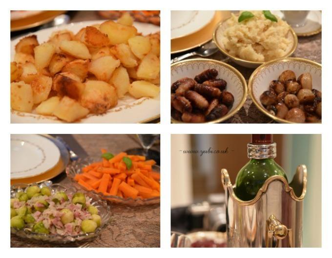 2015年の我が家のクリスマスの様子とテーブル Part 2〜食事編〜♪_b0313387_06330690.jpg