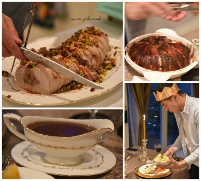 2015年の我が家のクリスマスの様子とテーブル Part 2〜食事編〜♪_b0313387_06434175.jpg
