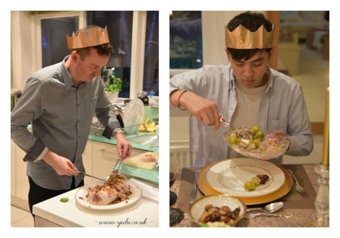 2015年の我が家のクリスマスの様子とテーブル Part 2〜食事編〜♪_b0313387_06501962.jpg