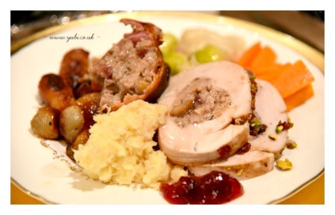 2015年の我が家のクリスマスの様子とテーブル Part 2〜食事編〜♪_b0313387_06575925.jpg