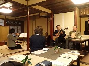 金沢町家で笛三昧_f0233340_2362.jpg
