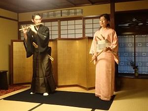 金沢町家で笛三昧_f0233340_2451962.jpg