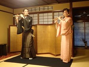 金沢町家で笛三昧_f0233340_24739.jpg