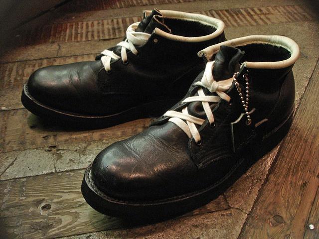 NEW : IrregulaR [Military Chukka] & [Short Military Boots] !!_a0132147_212110100.jpg