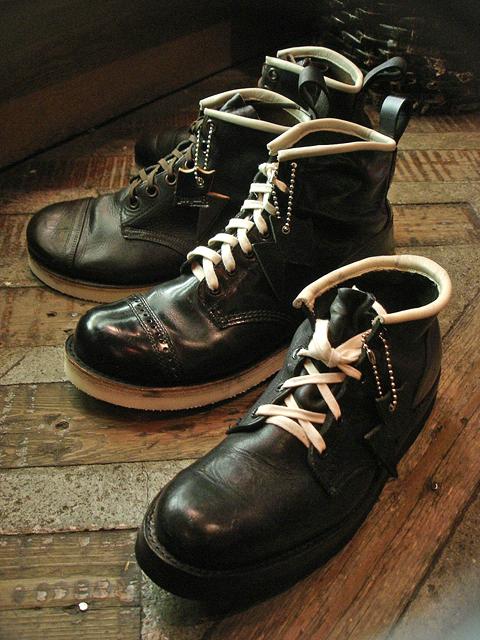 NEW : IrregulaR [Military Chukka] & [Short Military Boots] !!_a0132147_2121367.jpg