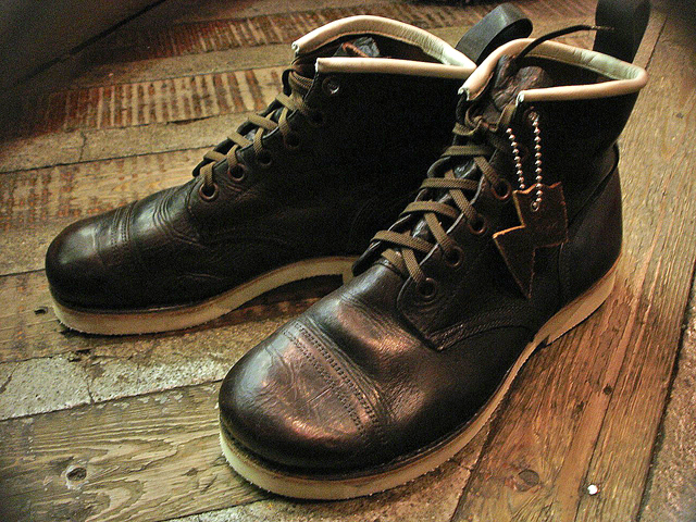NEW : IrregulaR [Military Chukka] & [Short Military Boots] !!_a0132147_21224645.jpg